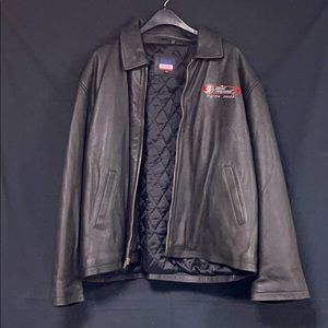 Planet Hollywood 2000 Black Leather Jacket 2XL